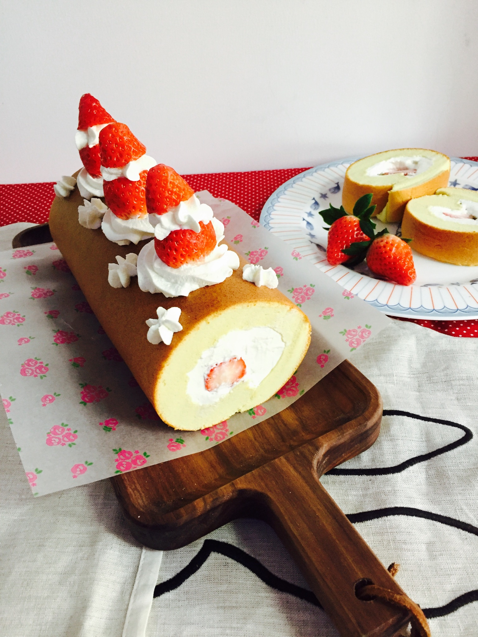 小四卷~风靡美食群的美味蛋糕卷的做法 步骤13