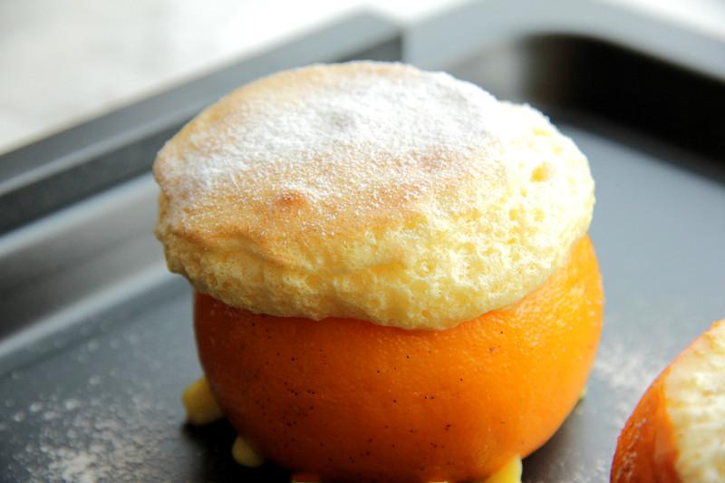 小甜橘舒芙蕾的做法 步骤9