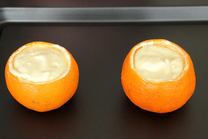 小甜橘舒芙蕾的做法 步骤7