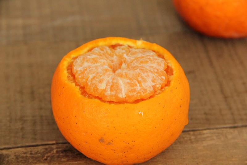 小甜橘舒芙蕾的做法 步骤3