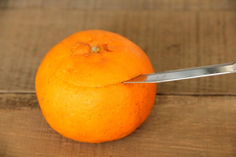 小甜橘舒芙蕾的做法 步骤2