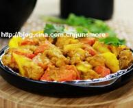 超省事的烤箱菜---咖喱鸡肉(长帝特约食谱)