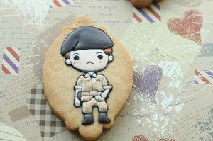 宋仲基欧巴也可以做饼干