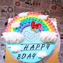 裱花嘴不用洗,一个裱花嘴就做出彩虹蛋糕