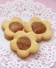 蜜桃酱花朵饼干