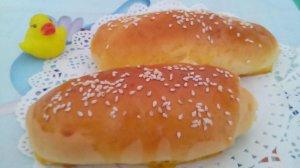 白芝麻葡萄干面包