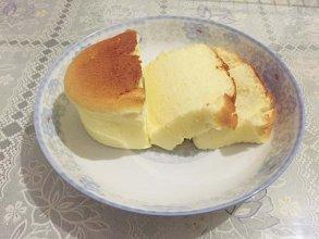 口感非常绵软---酸奶蛋糕