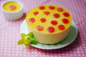 芒果西瓜酸奶慕斯