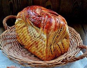 红豆沙辫子面包