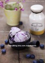 雀巢下午茶时光---蓝莓冰淇淋