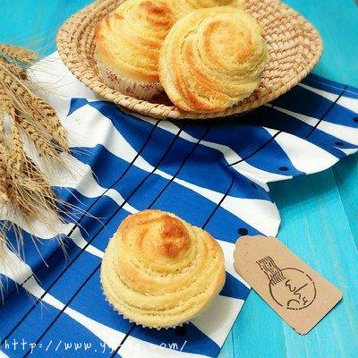 千层椰蓉小面包的做法 步骤15