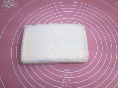 椰丝牛奶小方糕的做法 步骤9