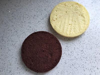 美妙双色慕斯蛋糕(6寸)的做法 步骤1