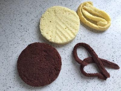 美妙双色慕斯蛋糕(6寸)的做法 步骤2