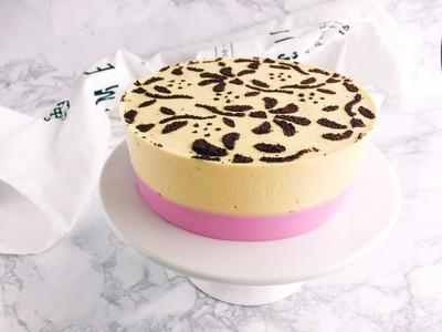 美妙双色慕斯蛋糕(6寸)的做法 步骤19