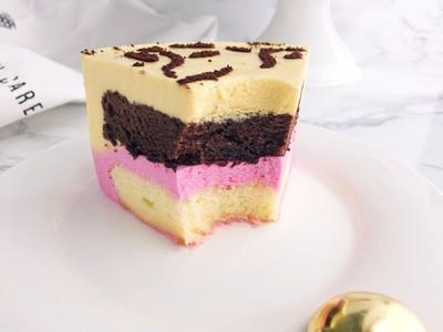 美妙双色慕斯蛋糕(6寸)的做法 步骤20