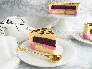 美妙双色慕斯蛋糕(6寸)