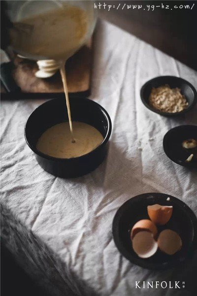 法国传统甜点啤梨杏仁克拉芙缇的做法 步骤3