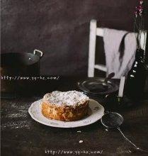 法国传统甜点啤梨杏仁克