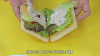 《Tinrry下午茶》教你做吞拿鱼三明治的做法 步骤11