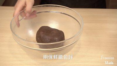 白巧克力树莓塔(视频菜谱)的做法 步骤5