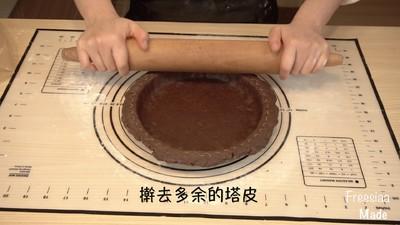 白巧克力树莓塔(视频菜谱)的做法 步骤9