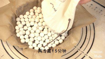 白巧克力树莓塔(视频菜谱)的做法 步骤11