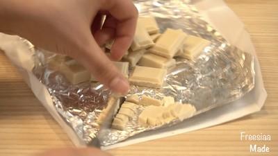 白巧克力树莓塔(视频菜谱)的做法 步骤14