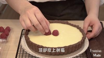白巧克力树莓塔(视频菜谱)的做法 步骤18