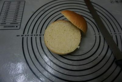 烘蛋汉堡的做法 步骤11