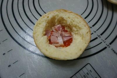 烘蛋汉堡的做法 步骤12