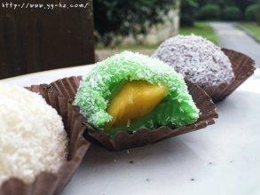 三色芒果糯米糍~好吃不