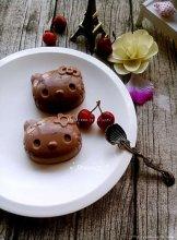 樱桃巧克力布丁