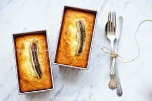 椰子香蕉磅蛋糕