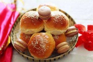 最爱香甜豆沙面包