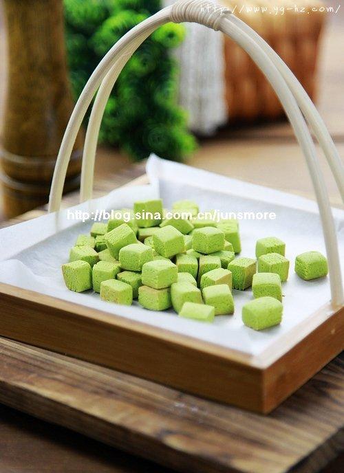 酥松又低脂的小饼干---抹茶豆豆(长帝特约食谱)