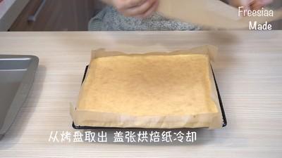 蓝莓芝士慕斯蛋糕(视频菜谱)的做法 步骤6
