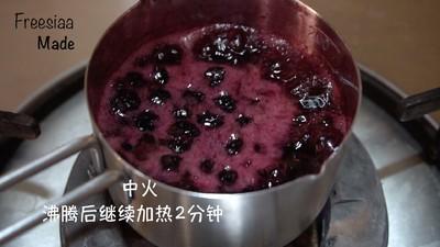 蓝莓芝士慕斯蛋糕(视频菜谱)的做法 步骤9