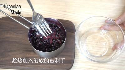蓝莓芝士慕斯蛋糕(视频菜谱)的做法 步骤10