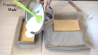 蓝莓芝士慕斯蛋糕(视频菜谱)的做法 步骤16