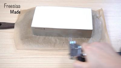 蓝莓芝士慕斯蛋糕(视频菜谱)的做法 步骤21