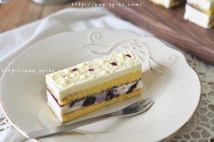 蓝莓芝士慕斯蛋糕(视频