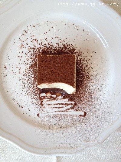 挑战21cake的黑白巧克力慕斯的做法 步骤11