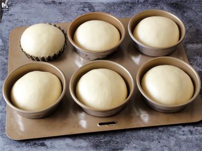 巨蛋牛奶面包---蛋糕一样口感和香甜的面包的做法 步骤7