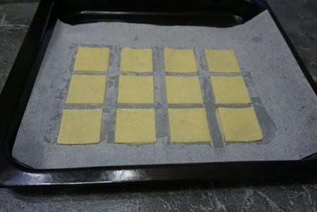 抹茶,白巧双味恋人饼干的做法 步骤8