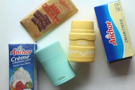 膳魔师魔法焖烧罐-软质巧克力乳酪慕斯的做法 步骤1