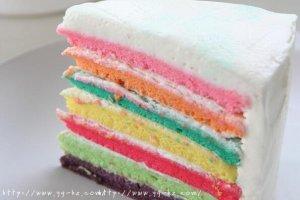 七色绚丽 梦幻の约—彩虹蛋糕