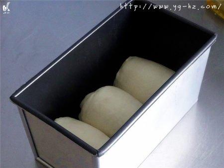 方形优格白吐司的做法 步骤12