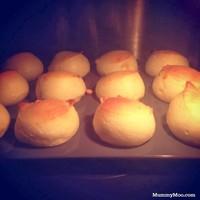 Mochi Cheese Puff﹡麻糬軟心芝士泡芙的做法 步骤4