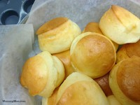Mochi Cheese Puff﹡麻糬軟心芝士泡芙的做法 步骤6